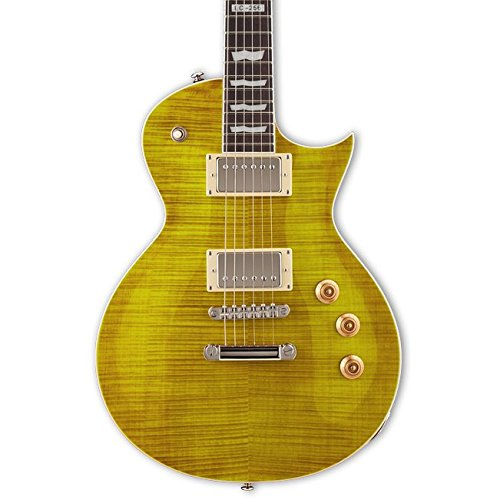 ESP LTD EC256FM Electric Guitar, Lemon Drop