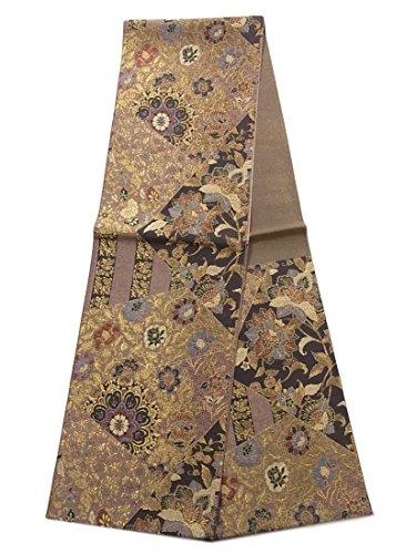 火大邸宅うつリサイクル 袋帯 正絹 六通 宝飾更紗紋