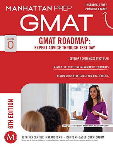 GMAT Roadmap, 6th Edition: Expert Advice Through Test Day (Manhattan Prep GMAT Strategy Guides Book 0) Pdf