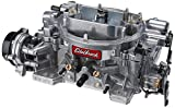 Edelbrock EDL-1826 Thunder Series 650 CFM Square Bore 4-Barrel Electric Choke New Carburetor
