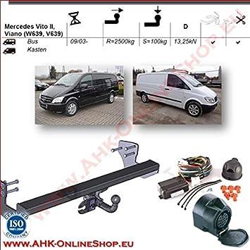 Für Mercedes-Benz Vito W639 Anhängerkupplung starr ABE