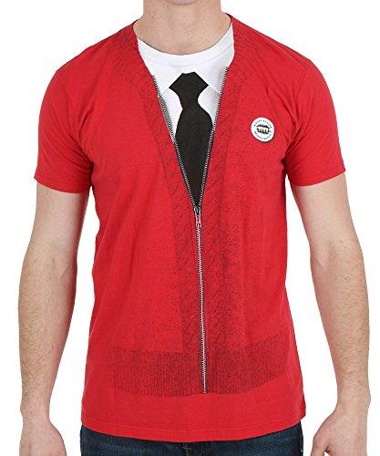 [Mister Rogers' Neighborhood Men's Costume T-shirt S] (Mr T Costumes)
