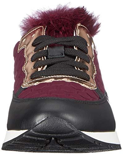 55a Time burgundy Violett Donna Sneaker Running Pollini wx5q0p7Yn