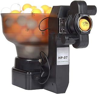 PingPong/Robot de Tennis de Table, Automatique Ball Machine avec 100 balles d'entraînement, la Pratique 36 Tourne sur la Machine 40mm Boule, pour l'exercice d'entraînement HP-07
