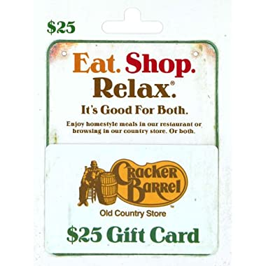 Cracker Barrel Gift Card $25