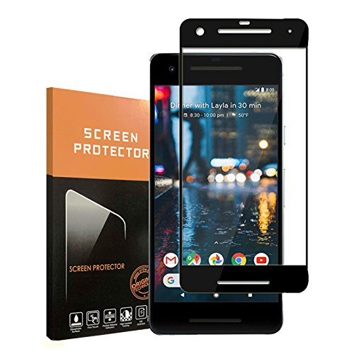For Google Pixel2 Screen Protector,Penacase,Full Coverage / Bubble Free / Easy to Install HD Clear Tempered Glass Screen Protector for Google Pixel 2
