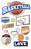 Paper House STDM-0261E N/A 3D Stickers-Basketball Swish
