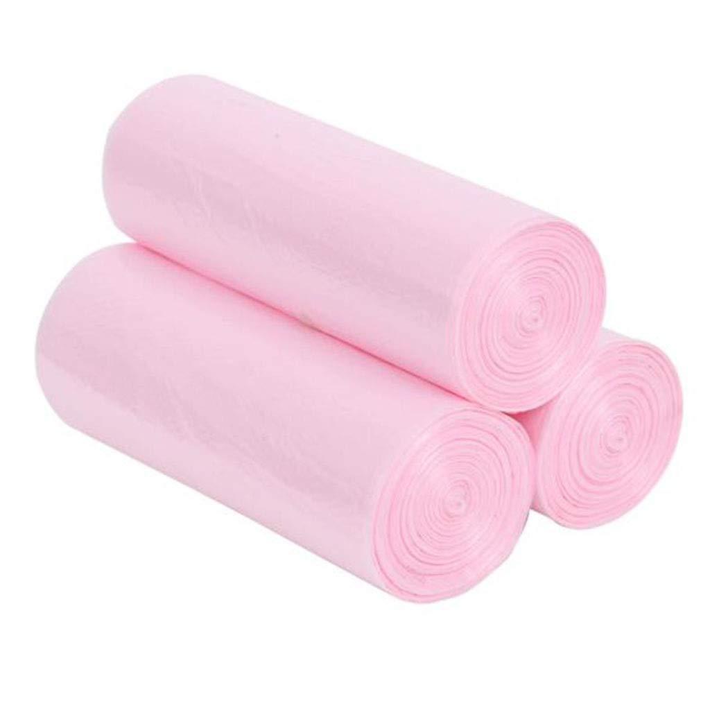 dick und Nicht leicht zu rei/ßen 270 St/ück 45 * 50cm HZTWS M/üllsack rosa B/üroleben Kunststoff