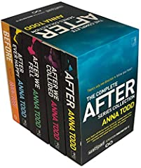 Anna Todd After Series Collection 4 Books Set Titles in the Set After, After We Collided, After Ever Happy, After We Fell