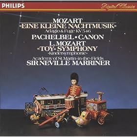 Amazon.com: Mozart: Eine kleine Nachtmusik.: Academy of St. Martin in