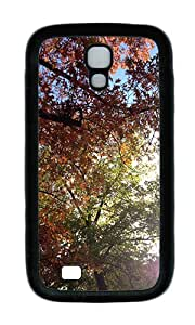 Samsung S4 Case,VUTTOO Stylish Sunny Fall Day In The Woods Soft Case For Samsung Galaxy S4 I9500 - TPU Black