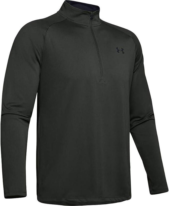 Under Armour Mens Tourmline Quarter Zip Tech Top T-Shirt 1242220 716 A46B