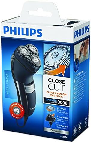Philips HQ6906 - Afeitadora electrica de rotación - negro: Amazon ...