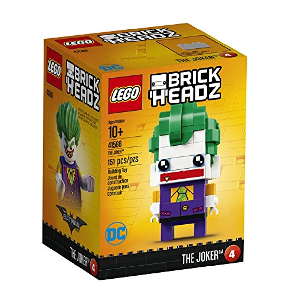[해외] 레고 41588 brick 헤드 조커 배트맨