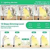 VOGEK Grow Light, 72W 144 LED Plant Growing Light