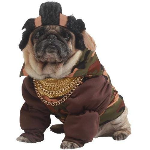 Pity The Fool Pet Pet Costume - Small ()