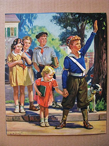School Poster The Crossing Guard 45