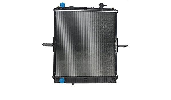 Nuevo Radiador de repuesto para 04 - 10 Isuzu NPR NQR NRR & Chevy/GM W-series 973331410 97333141: Amazon.es: Coche y moto