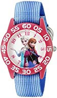 Disney Infinity Kids' W002504 Frozen  Elsa & Anna Analog Display Analog Quartz Blue Watch