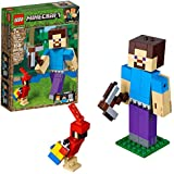 LEGO MINECRAFT-21148-BIG FIG STEVE COM PAPAGAIO