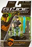"""G.I. Joe The Rise of Cobra 3 3/4"""" Action Figure Sgt. Stone (Special Forces Commando)"""