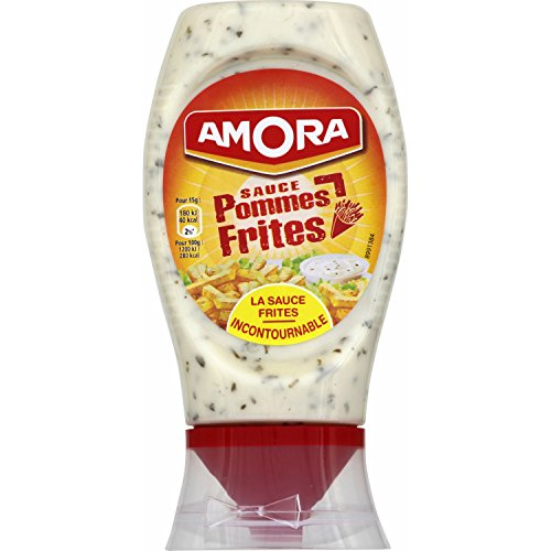 - French Amora Sauce for French fries Pommes frites