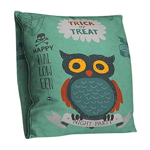 MEANIT Halloween Pillowcase, Modern Pillow Covers, Fluffy Pillow Cases, Decorative Throw Pillow Covers