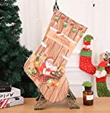 Zhahender Party Decoration Christmas Stocking Decoration Christmas Supplies Hotel Bar Party Shopping Mall Pendant(F)
