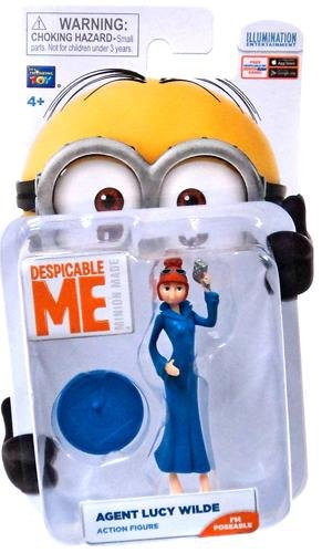 Despicable Me Lucy Wilde Minion Figure