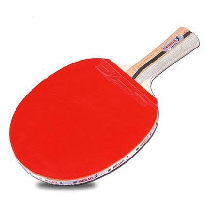 xluckx D-007X - Raqueta de Entrenamiento para Tenis de Mesa (1 Pieza)