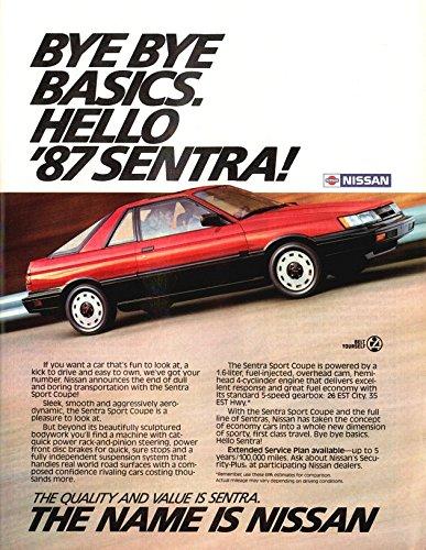 1987 Nissan Sentra Sport Coupe For Sale Edition Photo Specs Civic coupe vs nissan v16 potenciado interlomas 5/08. 1987 nissan sentra sport coupe for sale