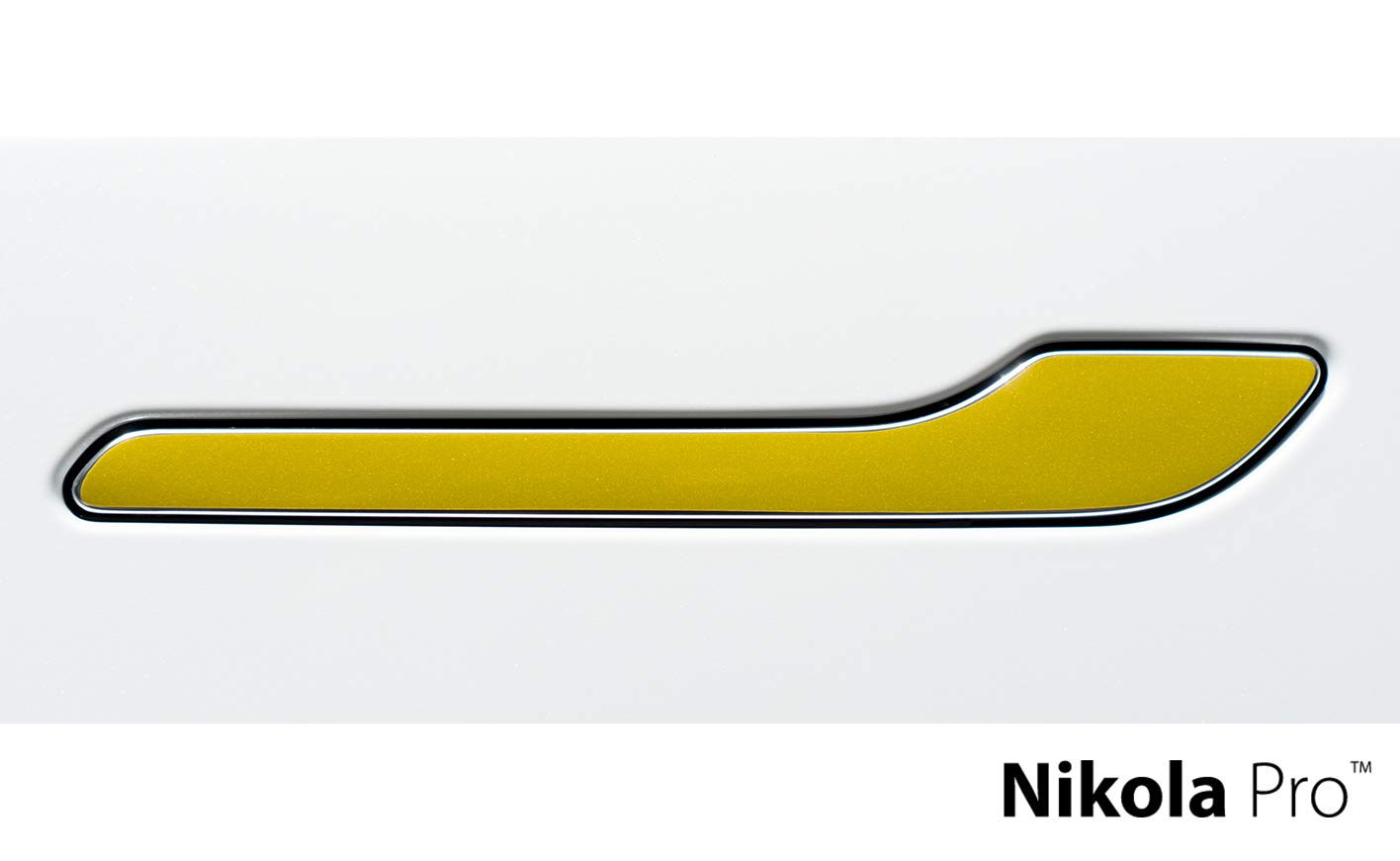 Black Matrix Nikola Pro Tesla Model 3 Door Handle Wrap Kit