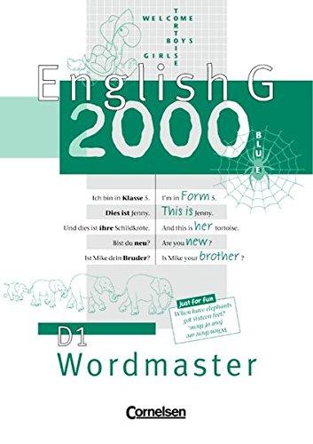 English G 2000, Ausgabe D, Wordmaster