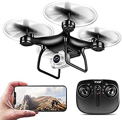 Mini Selfie Drone con cámara para niños Adultos 1080P 120 ° Gran ...