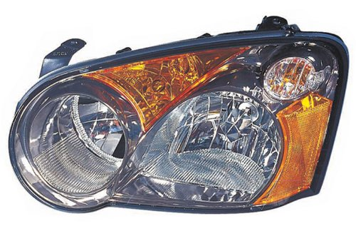 For Subaru Impreza 04 Blob Eyes Head Light With Bulb Lh