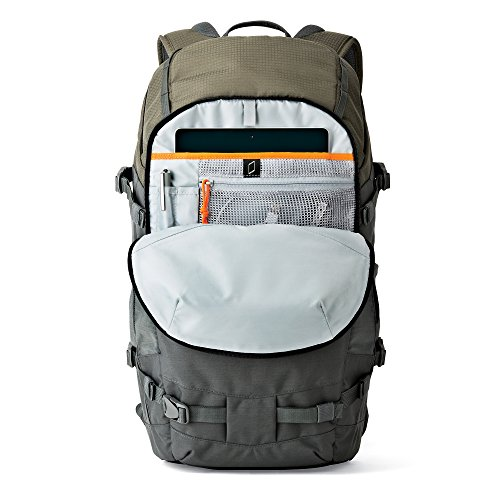 Lowepro Flipside Trek BP 450 AW. XL Outdoor Camera Backpack for DSLR w/ Rain Cover and Tablet Pocket by Lowepro (Image #4)
