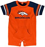 "NFL Infant ""Rusher"" Romper-Orange-24 Months, Denver Broncos"