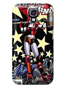 The best selling tpu phone cose cover with illustration for Samsung Galaxy s4 of Marvel Comic Harley Quinn in Fashion E-Mall