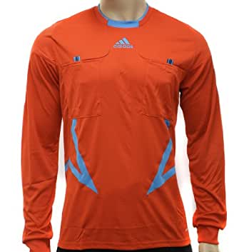 Adidas Mens Referee FM UCL Orange Long Sleeve Jersey Top Size S