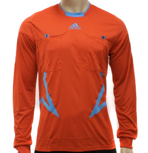 Adidas Mens Referee FM UCL Orange Long Sleeve Jersey Top Size 2XL