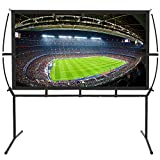 Best Portable Projection Screens - Portable Projector Screen with Stand, Indoor and Outdoor Review