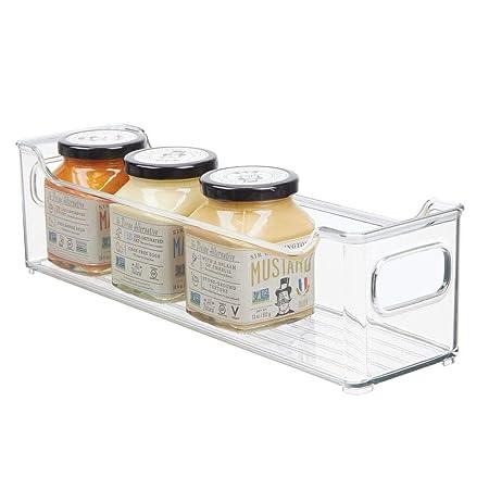 mDesign Fiambreras para el frigorífico - Cajas de plástico para ...