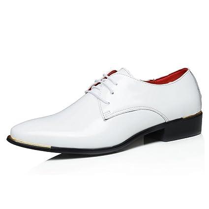 Zapatos de Vestir para Hombre/de Negocios 2018 Four Seasons Zapatos de Cuero Cómodos Zapatos