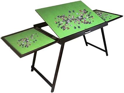 Amazon Com Vb Jigsaw Puzzle Table Storage Folding Tilting Table
