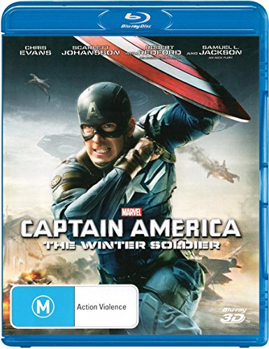 Captain America - The Winter Soldier [3D Blu-ray] [Import - Australia] (Blu Ray Captain America The Winter Soldier)