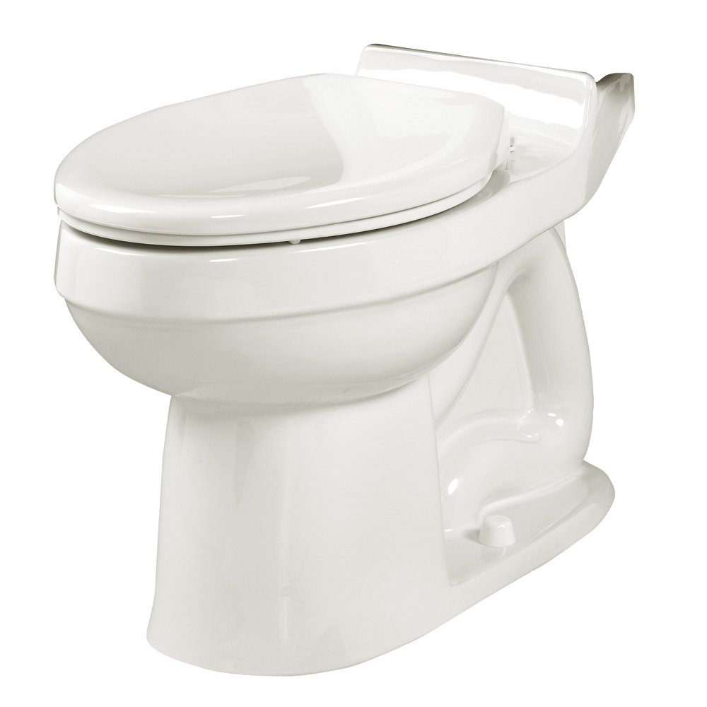 American Standard 3121.016.020 Champion Elongated Seatless Toilet Bowl, White (Bowl Only)