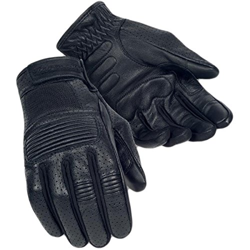 Tour Master Summer Elite 3 Men's Street Racing Motorcycle Gloves (Tour Master Motorcycle Glove)