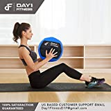 Day 1 Fitness Soft Wall Medicine Ball 8 Pounds