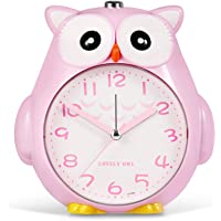 SkyNature Home Room Alarm Clock Analog Digital Kids Alarm Clock for Girls