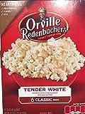 orville redenbacher white - Orville Redenbacher's Tender White Classic Bag 6 bags 19.7 oz ( 2 Pack)